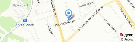 Мясцо №1 на карте Казани