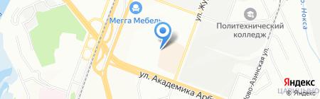 Формула успеха на карте Казани