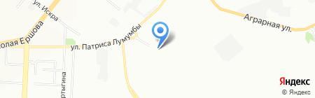 Группа доставки на карте Казани
