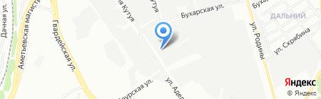 АГАТ на карте Казани