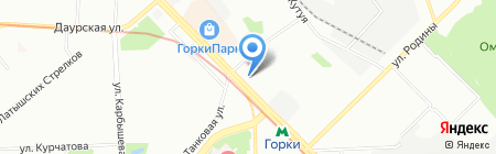 Современный город на карте Казани