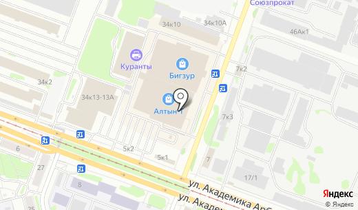 Рекламий. Схема проезда в Казани