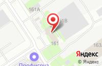 Схема проезда до компании Техноальянс в Казани