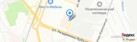 Miss на карте Казани