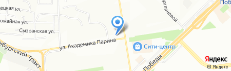 Банкомат Банк Аверс на карте Казани