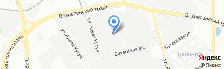Евродрей на карте Казани