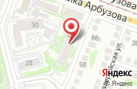 Схема проезда до компании Татавтотрейд в Казани