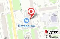 Схема проезда до компании Жар-Свежар в Казани