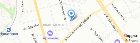 Сиддхи на карте Казани