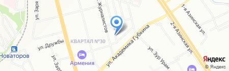 ТТЛ на карте Казани