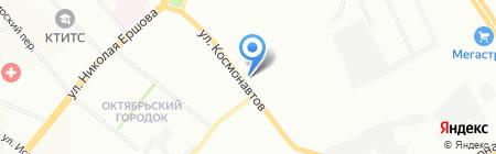 Розовая Пантера на карте Казани