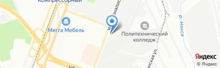 Системы связи на карте Казани