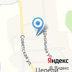 Цепелевский сельский дом культуры на карте Кирова