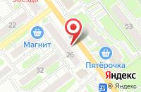 Схема проезда до компании Сатурн в Казани