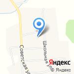 Луч на карте Кирова