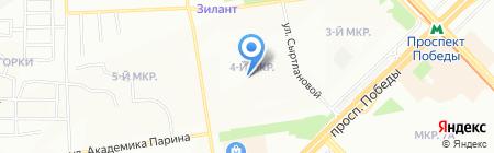 Гранд на карте Казани