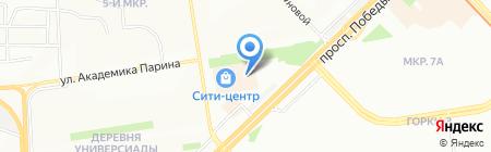 АБ-Комфорт на карте Казани