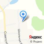 Основная общеобразовательная школа д. Цепели на карте Кирова