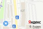 Схема проезда до компании КРЕПЕЖ в Казани