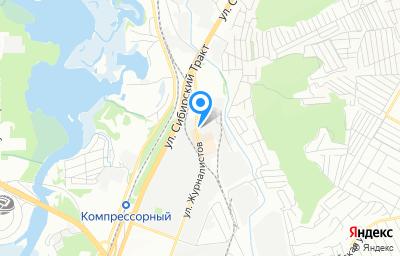 Местоположение на карте пункта техосмотра по адресу г Казань, ул Журналистов, д 57