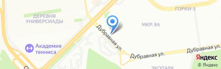 Антал на карте Казани