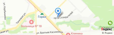 Овощная ярмарка на карте Казани