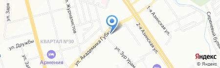 Мясной прилавок на карте Казани