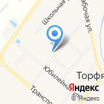 Тополек на карте Кирова