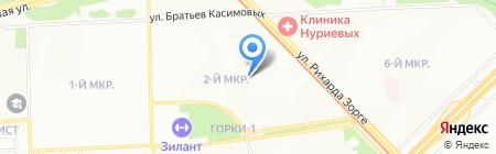 Аиринпроф на карте Казани