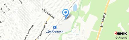 БСД на карте Казани