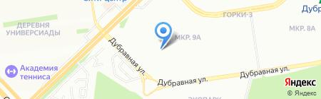 Детский сад №131 Стрекоза на карте Казани