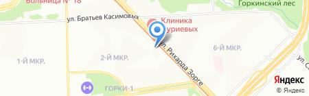 Эдельвейс на карте Казани