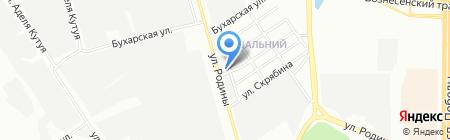Полюс на карте Казани