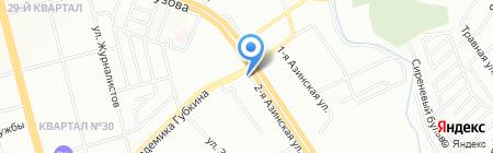 Августина на карте Казани