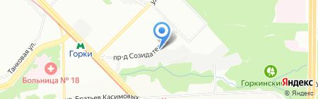 АвтоВизит на карте Казани