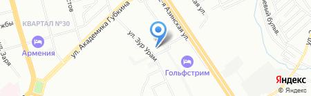 Детский сад №167 Колобок на карте Казани