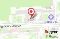 Схема проезда до компании Приволжский Расчетно-Кассовый Центр Национального Банка Республики Татарстан в Казани