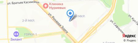 Опорный пункт общественного порядка Отдел полиции №9 Сафиуллина на карте Казани