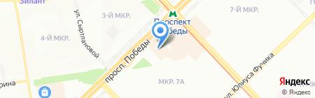 Народный на карте Казани