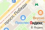 Схема проезда до компании Алия в Казани