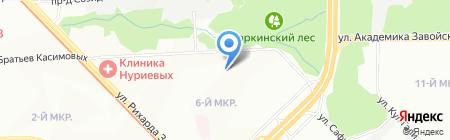 КазЭнергоРемонт на карте Казани