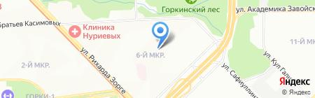 Средняя общеобразовательная школа №95 с углубленным изучением отдельных предметов на карте Казани