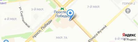 ДЕТСКИЙ на карте Казани