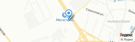 КлиВент на карте Казани