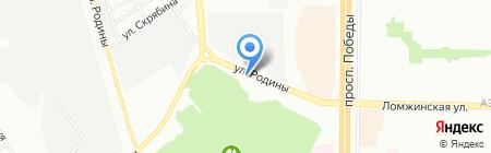 5 Колесо на карте Казани