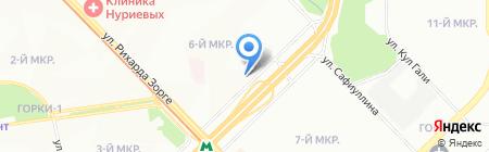 Палермо на карте Казани
