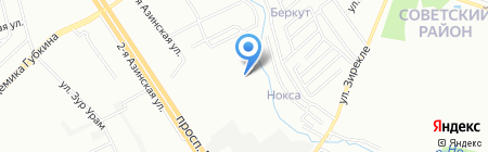 Детский сад №50 Почемучки на карте Казани