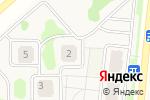 Схема проезда до компании Счастливый в Усадах