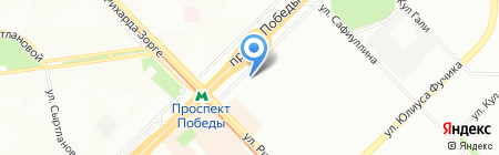 МАКСИМА-М на карте Казани