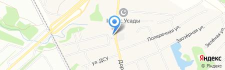 Эдельвейс на карте Столбища